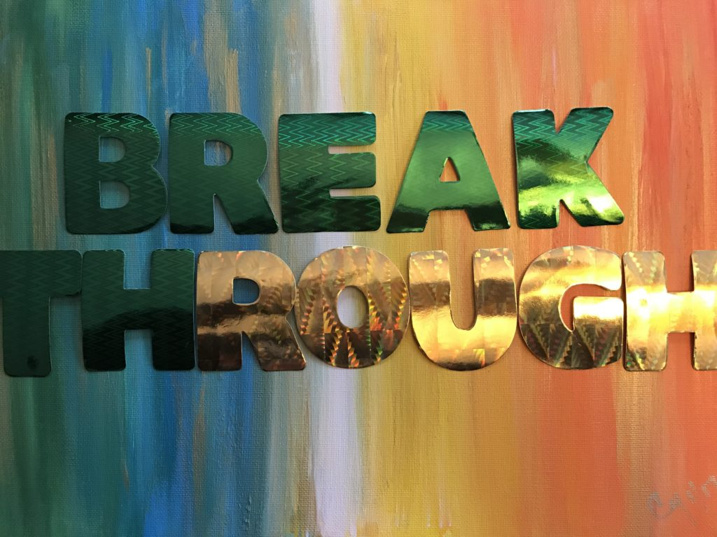 BreakThrough by Cindy T. All Rights Reserved.