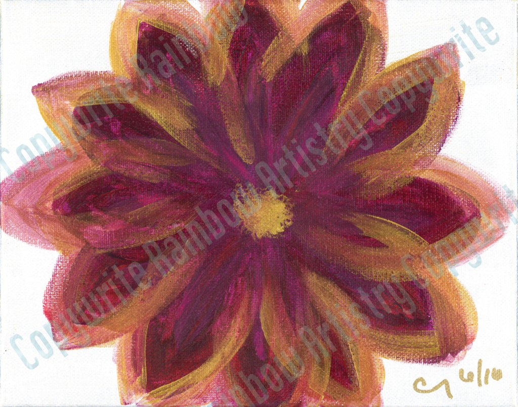 Magenta Flower by Cindy T. All Rights Reserved.