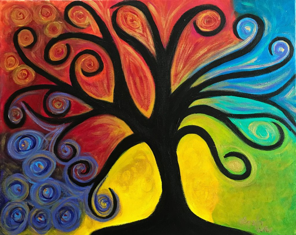 The Living Tree by Cindy T. All Rights Reserved.