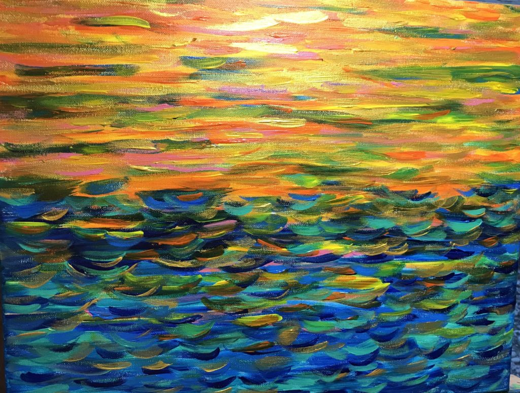 The Sun Seas by Cindy T. All Rights Reserved.