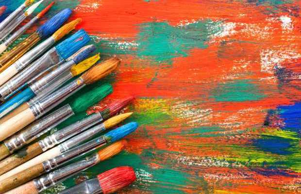 Bright Paint Brushes